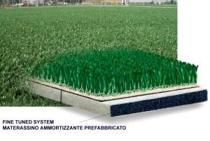 Esempio di erba sintetica