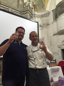Sindaco Gareggia - chef Bacoccola