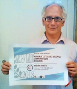 """Maurizio Vignaroli finalista per la sezione """"Articolo giornalistico"""""""